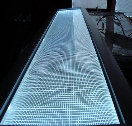Tấm nền mica dẫn sáng